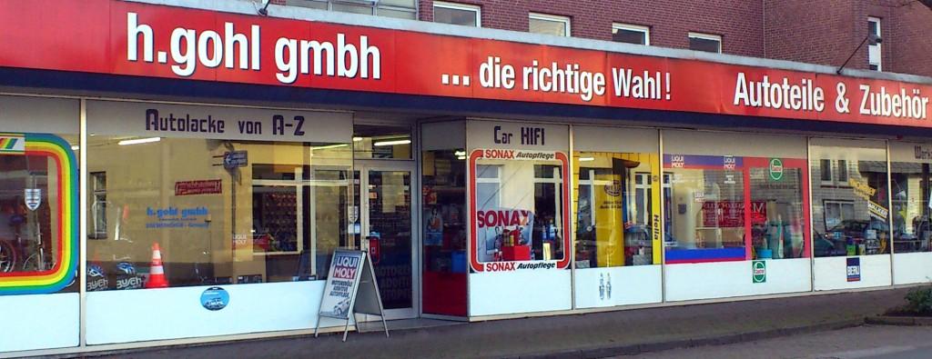 Ladengeschäft in der Neuen Str. 121 in Bremervörde | H. Gohl GmbH Autoteile